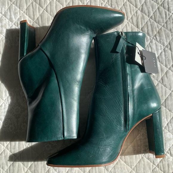 NWT ZARA - cute stylish leather booties